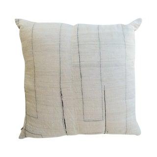Vintage Hand Woven Hemp Pillow