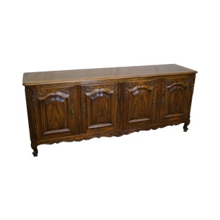 Widdicomb French Louis XV Style Walnut Buffet Sideboard