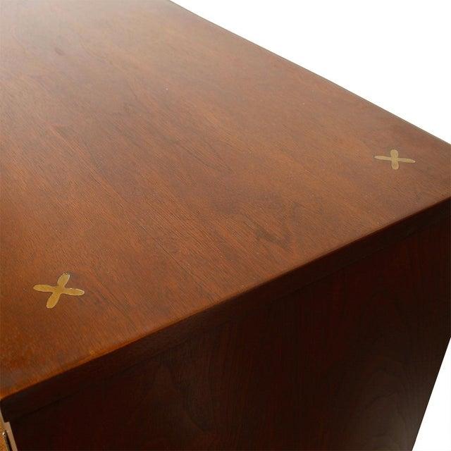 American of Martinsville Walnut Dresser Sideboard - Image 5 of 8