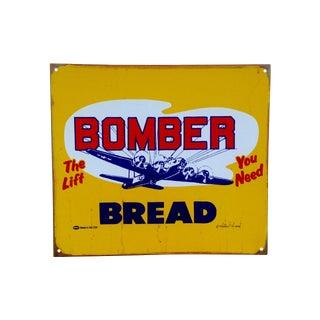 Vintage Look Marty Mummert Sign, Bomber Bread
