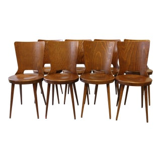 French Bistro Dining Chairs - Set of 8