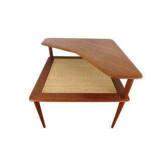 Minerva Corner Table by Peter Hvidt and Orla Mølgaard-Nielsen for France and Søn
