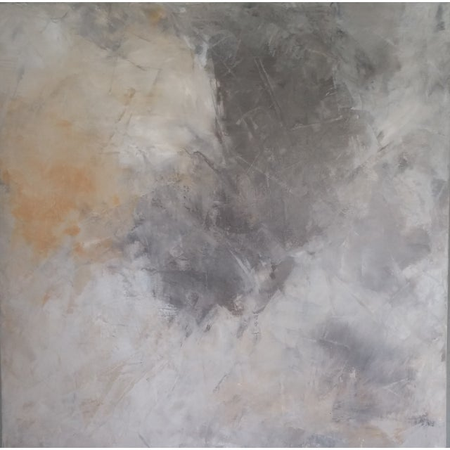 """""""Grey Sky"""" Abstract Painting by Kris Gould - Image 1 of 5"""