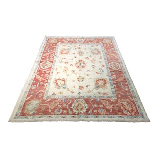"Bellwether Rugs Turkish Oushak Rug - 5'1"" X 6'7"""