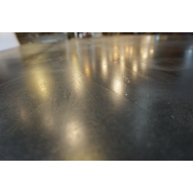 Large Zinc Dining Table - Image 4 of 4