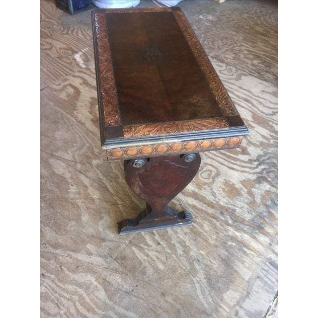 Antique sofa table by kiel furniture co chairish Rotes sofa kiel