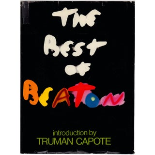 """The Best of Beaton"" Vintage Book by Truman Capote"