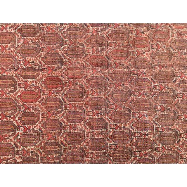 """Vintage Turkish Patchwork Rug - 5'5"""" X 8'10"""" - Image 7 of 11"""