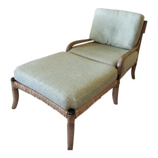 Vintage used bamboo patio and garden furniture for Bent bamboo furniture