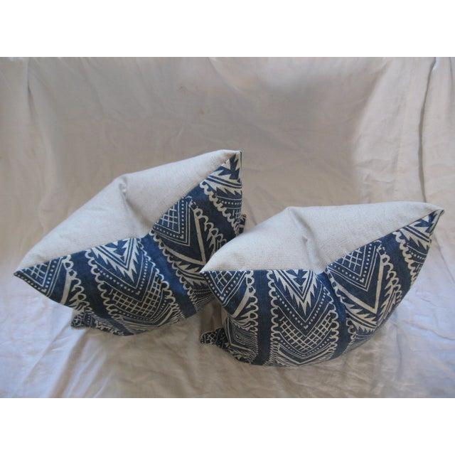 Custom Hand-Spun Linen Pillows - A Pair - Image 6 of 8