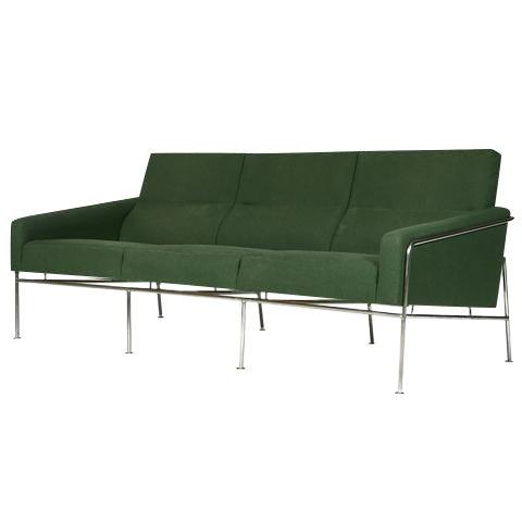 Image of 1957 Arne Jacobsen Airport Sofa 3300/3 Model