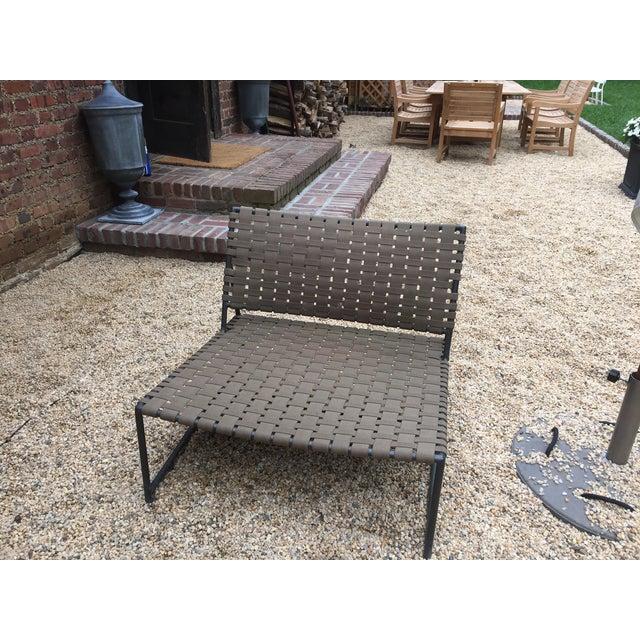 Restoration Hardware Montecito Lounge Chair Chairish