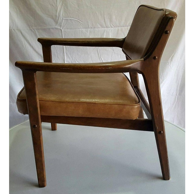 Mid-Century Modern Danish Style Chair - Image 3 of 4