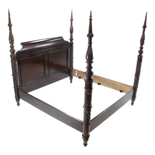 Bernhardt Four Poster King Bed