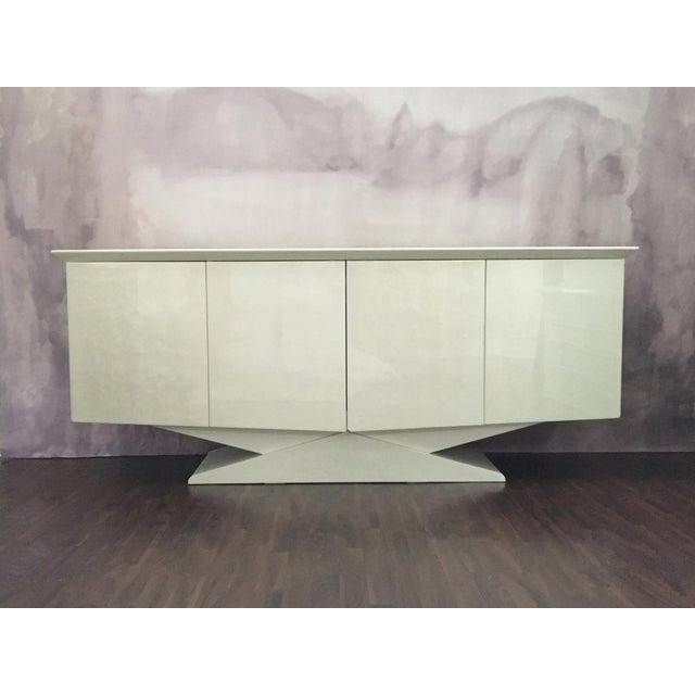 Modern Ello Inspired Art Deco Modern Lacquer Credenza - Image 2 of 10