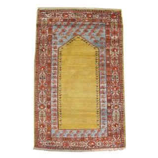Angora Wool Oushak Rug