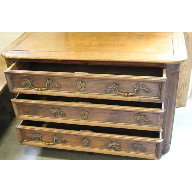 French Oak Louis XV Style Commode - Image 7 of 8