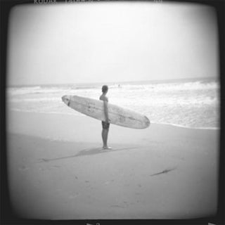 """Longboard"" Black & White Photograph"