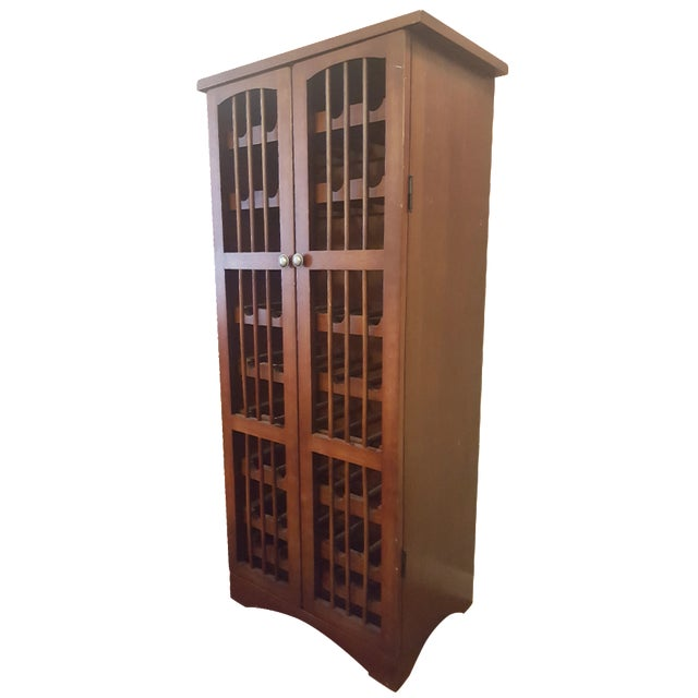 Pull-Out Wine Rack Cabinet - Image 1 of 5