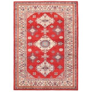 """Pasargad Kazak Wool Rug - 6' 8"""" X 9' 4"""""""