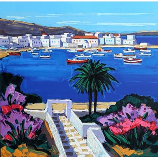"""Cadaques"" Print by Jean-Claude Quilici"
