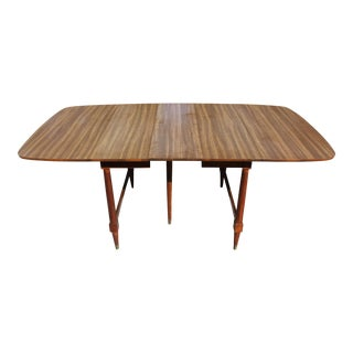 Paul McCobb Style Mid-Century Expandable Dining Table