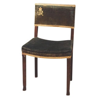 Pair of George VI, Coronation Chairs