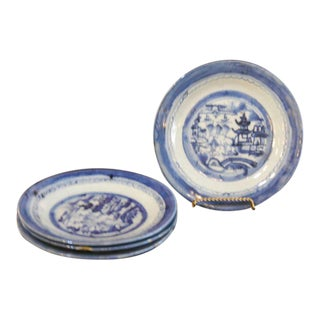 19th Century Canton Plates - Set of 4