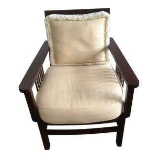 Mariette Himes Gomez Slat Back Chair