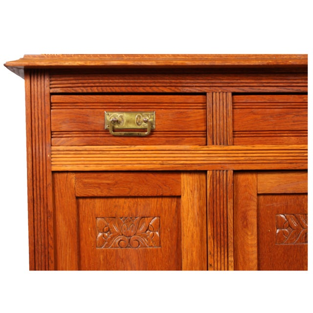 1920s arts and crafts style cabinet chairish for Arts and crafts style hardware