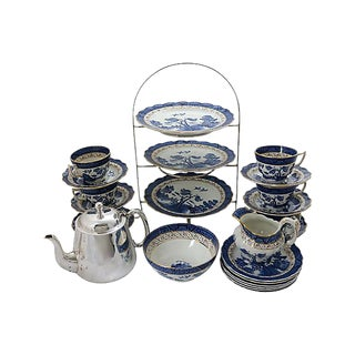 Hotel Ware English High Tea Set - 25 Pieces