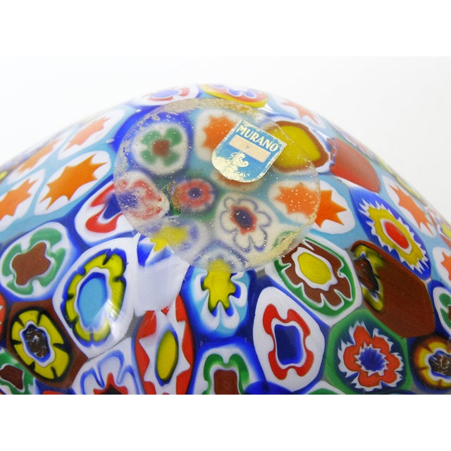 Fratelli Toso Millefiore Mosaic Murano Glass Bowl - Image 5 of 10