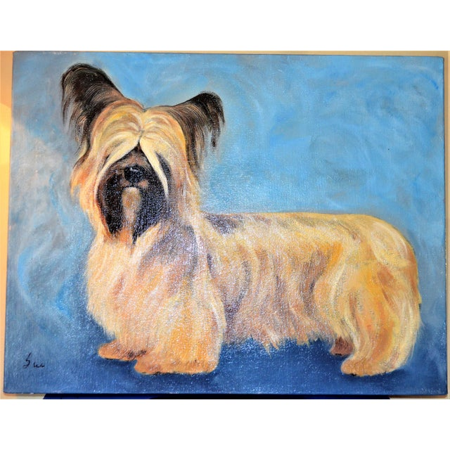 Yorkshire / Skye Terrier Acrylic Painting - Image 10 of 10
