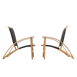 "Pair of Carl Koch ""Sno-Shu"" Lounge Chairs"