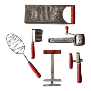 Americana Kitchen Utensil Collection - Set of 6
