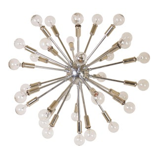 Sputnik Pendant Chandelier in Nickel