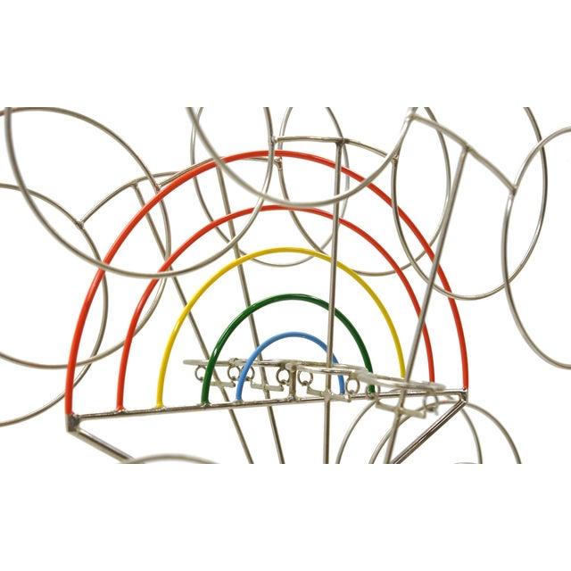 Joseph Burlini Kinetic Sculpture - Image 6 of 10