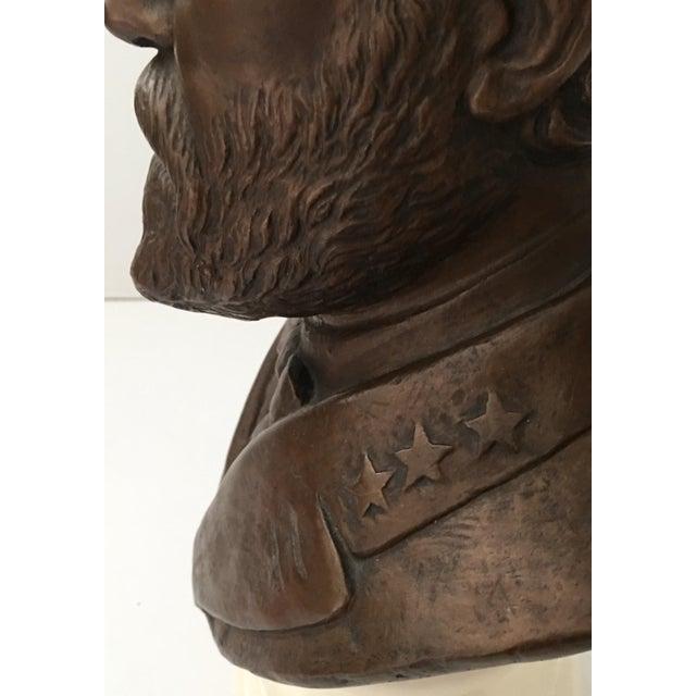 Vintage Ulysses S. Grant Bust Sculpture - Image 8 of 8