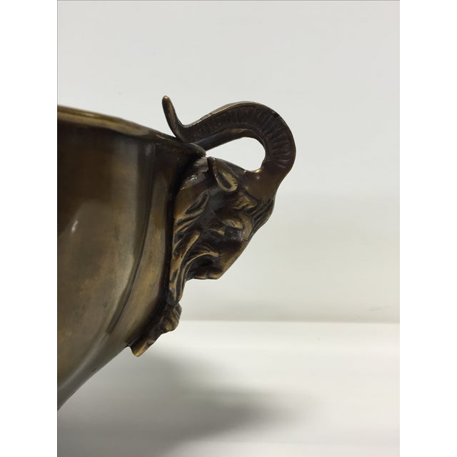 Image of Brass Goat Head Bowl