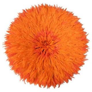 Authentic Cameroon Juju Hat - Orange