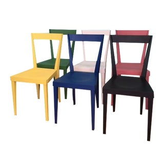 Livia Chairs by Gio Ponti for l'Abbate - Set of 6