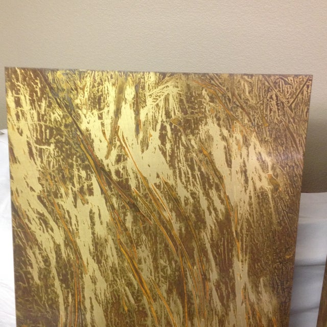 Copper Art Work Panels - A Pair - Image 7 of 9