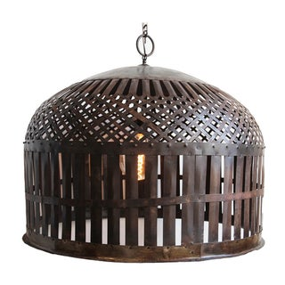 Industrial Cage Lantern