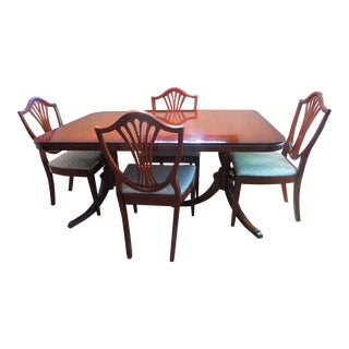 Vintage Drexel Mahogany Dining Set