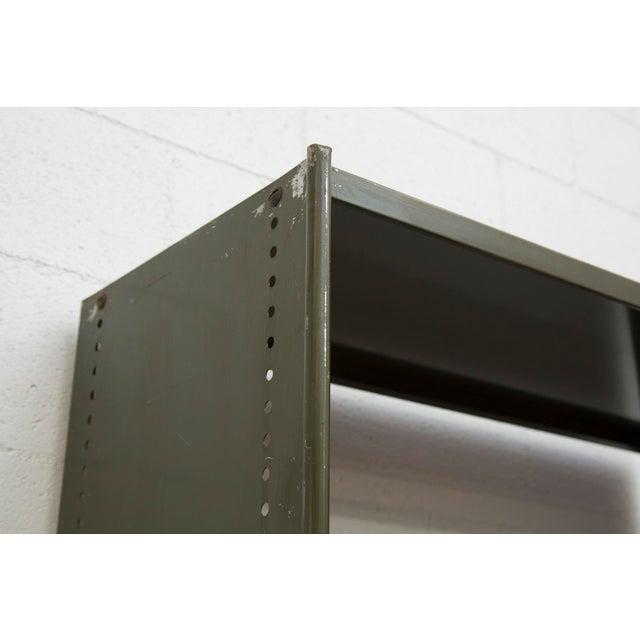 Industrial Military Sheet Metal Bookshelf - Image 7 of 10