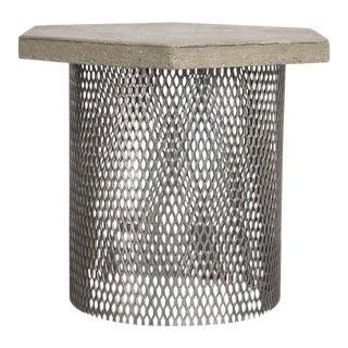 Concrete & Wire Concept Side Table