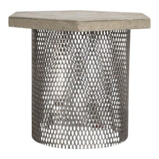 Concrete & Wire Concept Side Table
