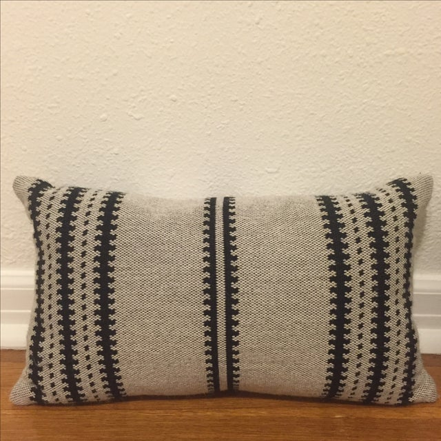 Restoration Hardware Tribal Lumbar Pillows - Pair Chairish