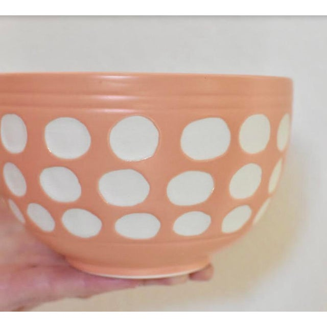 Peach Dot Bowl - Image 5 of 6