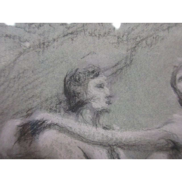 Image of Charcoal Ballet Sketch by A. Von Munchhausen